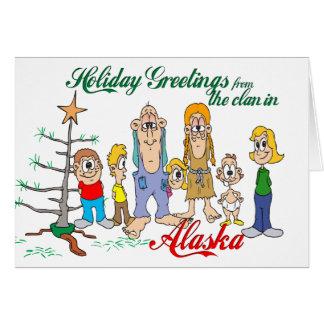 Holiday Greetings from Alaska Card