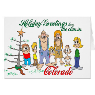 Holiday Greetings from Colorado Cards