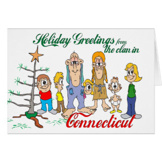 Holiday Greetings from Connecticut Cards