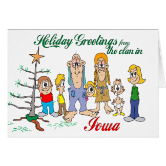 Holiday Greetings from Iowa Cards