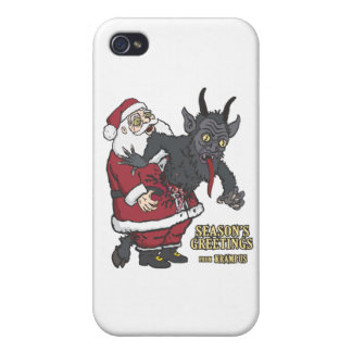 Holiday Greetings from Krampus (and Santa) Covers For iPhone 4