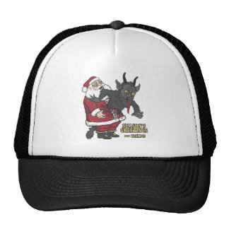 Holiday Greetings from Krampus (and Santa) Hat