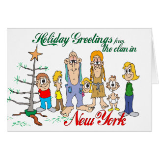 Holiday Greetings from New York Card
