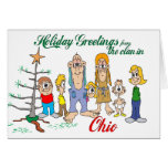 Holiday Greetings from Ohio Card
