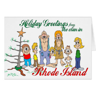 Holiday Greetings from Rhode Island Card