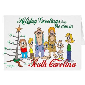Holiday Greetings from South Carolina Cards