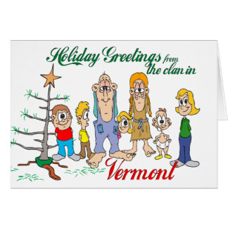 Holiday Greetings from Vermont Card