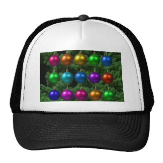 holiday greetings hat