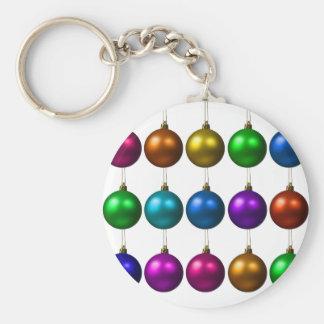 holiday greetings key chains