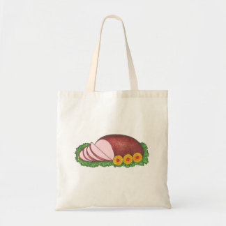 Holiday Ham Christmas Dinner Foodie Tote