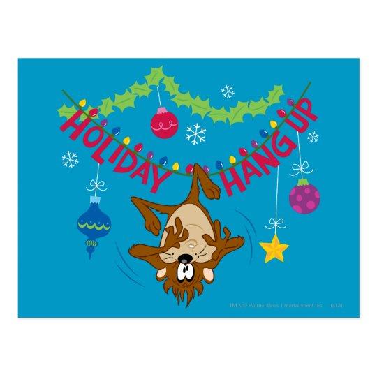Holiday Hang Up Postcard