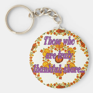 Holiday Harvest Key Ring