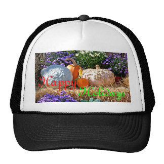 Holiday Harvest Merry Xmas Design Cap