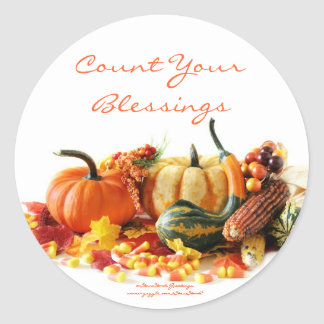 Holiday Harvest Stickers