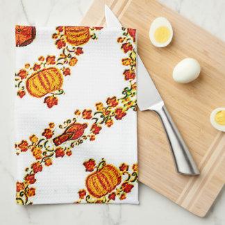 Holiday Harvest Tea Towel