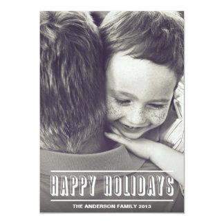 HOLIDAY HEADLINE | HOLIDAY PHOTO CARD 13 CM X 18 CM INVITATION CARD