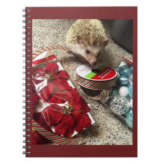 Holiday Hedgehog Notebook