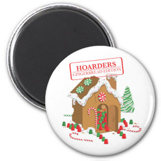 Holiday Hoarders 6 Cm Round Magnet