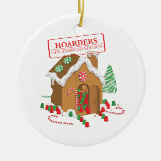 Holiday Hoarders Christmas Ornament