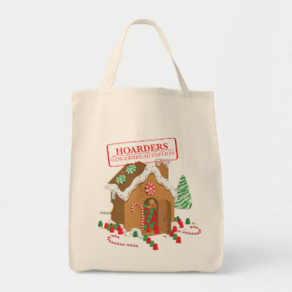 Holiday Hoarders Grocery Tote Bag