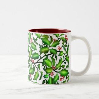 Holiday Holly Berries Mug
