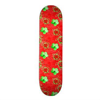 Holiday Honu Turtles Skateboard Deck