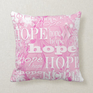 Holiday Hope Breast Cancer Pillow