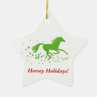 Holiday Horse Ornament: Horsey Holidays! Christmas Ornament
