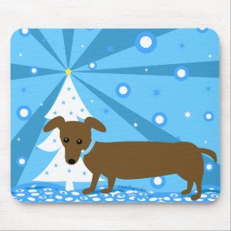 Holiday Hotdog Mouse Pads