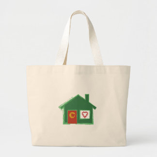 Holiday House Tote Bags