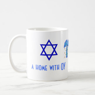 Holiday Humor Christmas and Hanukkah Basic White Mug