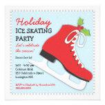 Holiday Ice Skating Celebration Party Invitation