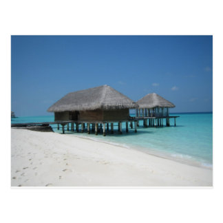 Holiday in Maldives Postcard