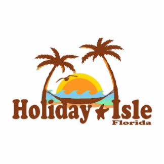 Holiday Isle. Photo Sculpture Magnet