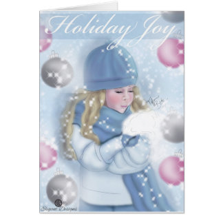 """Holiday Joy"" Card"