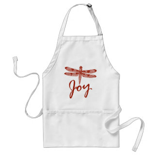 Holiday Joy Dragonfly Standard Apron