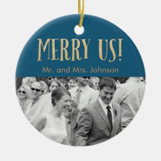 Holiday Keepsake Ornament - Blue