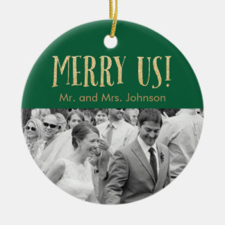 Holiday Keepsake Ornament - Green