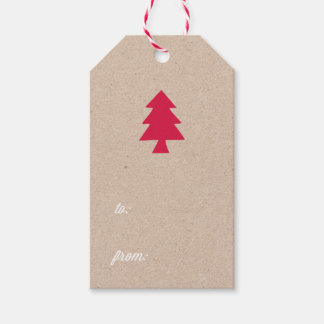 Holiday Kraft Gift Tags