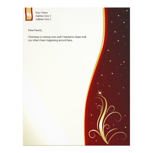 Holiday Letterhead Flyer