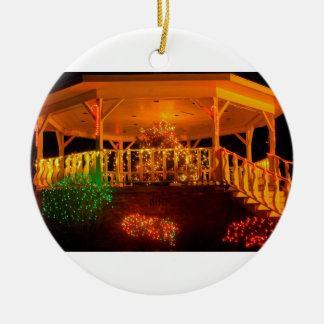 Holiday Light Bandstand Christmas Ornament
