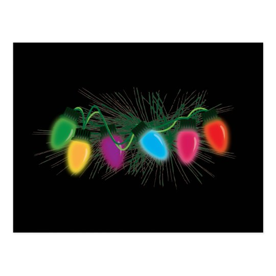 Holiday Lights Postcard