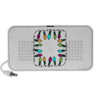 Holiday Lights Laptop Speaker