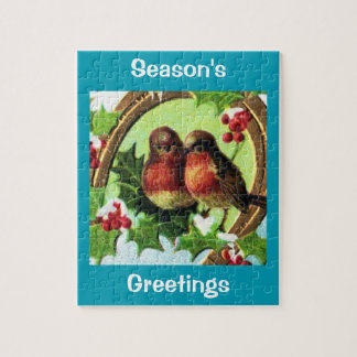 Holiday Love Birds Jigsaw Puzzle
