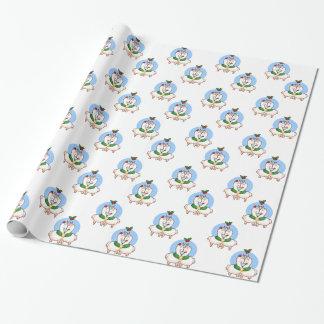 Holiday Love Llamas Wrapping Paper