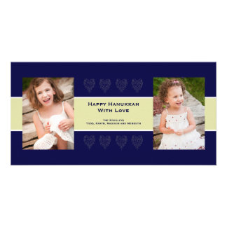 Holiday Love Photo Card Navy