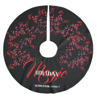 Holiday Magic Personalized - Brushed Polyester Tree Skirt