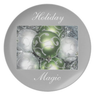 'Holiday Magic' Plate