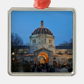Holiday Memories At The Bronx Zoo Christmas Ornament