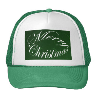 Holiday Merry Christmas Matching Green Items Cap